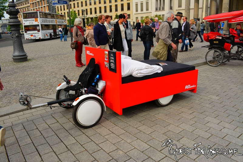 Berlin Bed Bike - The Quest For Awesome