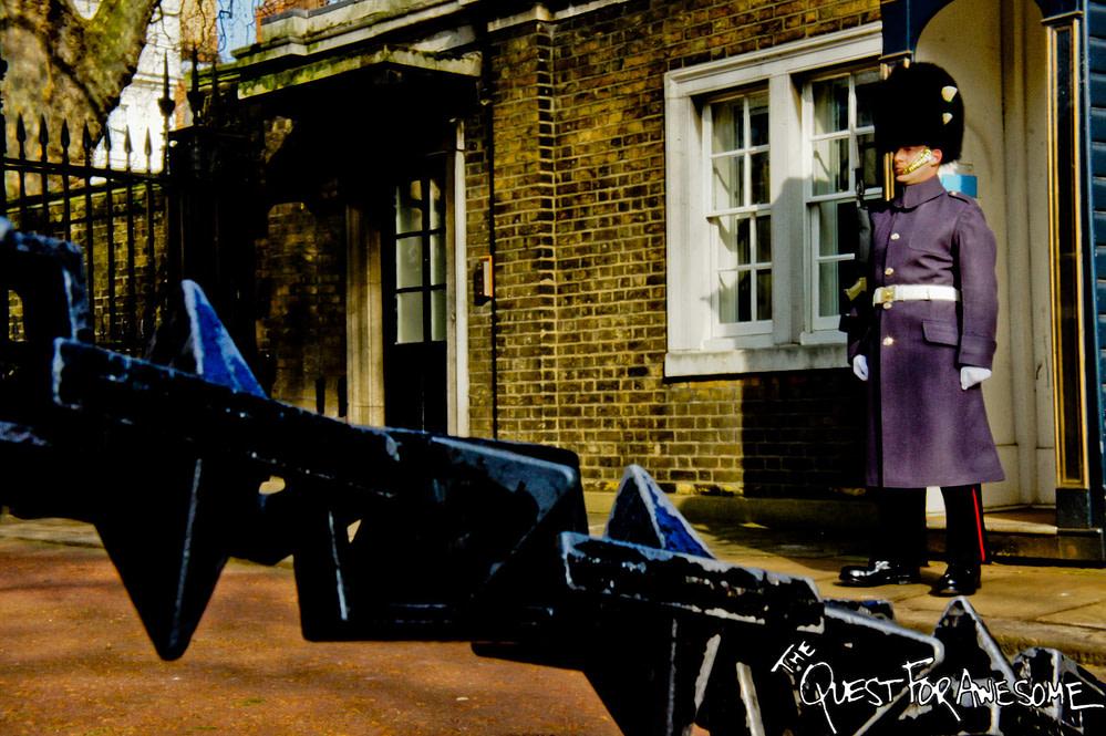 London Guard on Duty