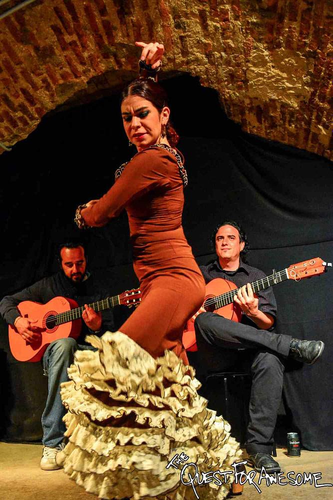 Flamenco in Madrid, Spain