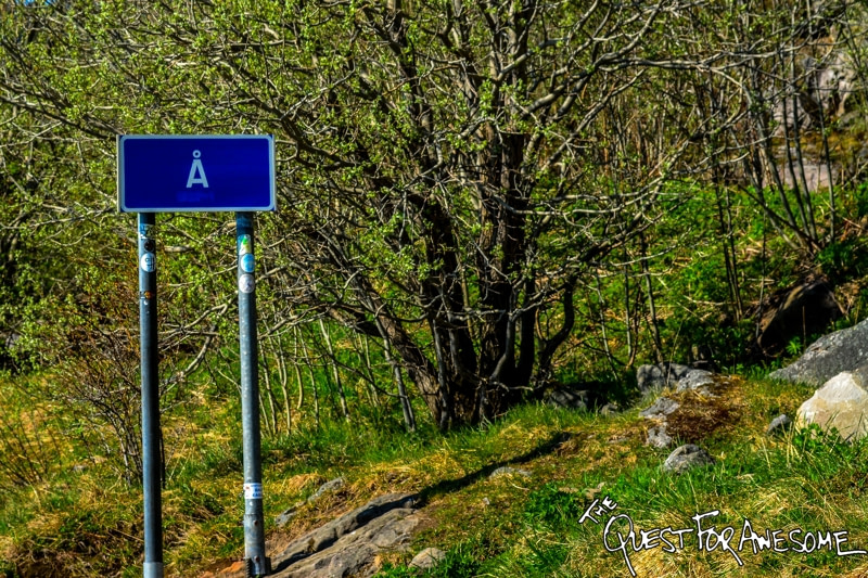 The Shortest Name For A Town - A, Norway - The Quest For Awesome