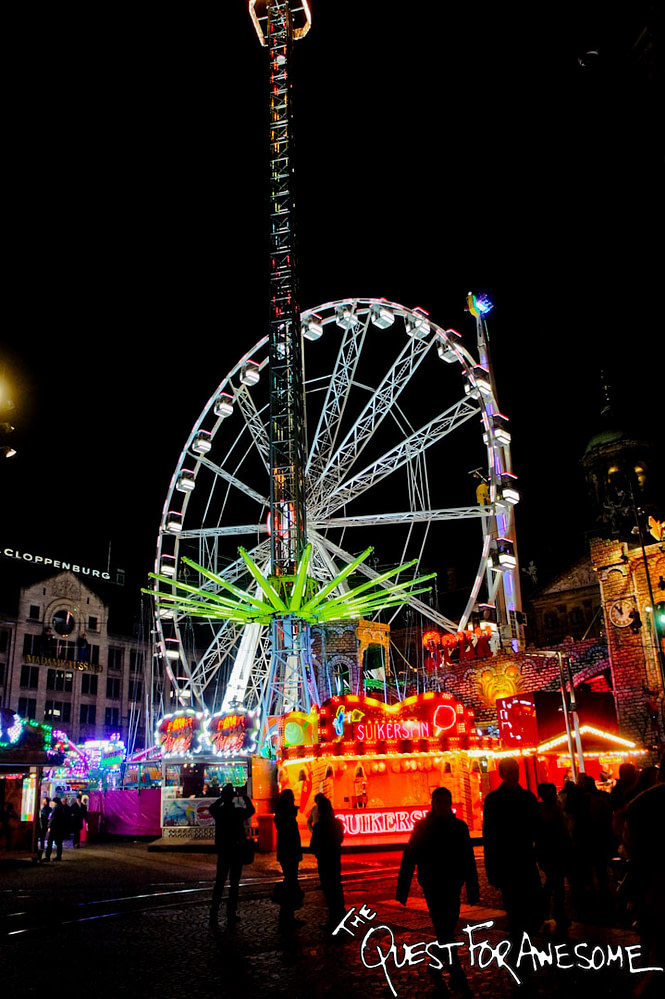 Amsterdam Carnival at Night