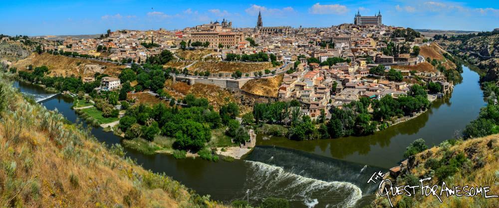 Toledo Spain Panorama