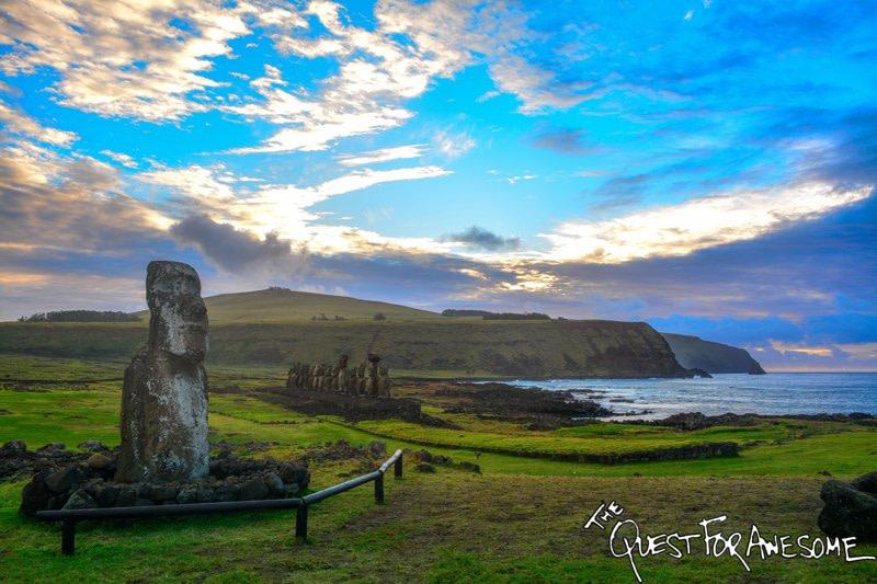 Ahu Tongariki Easter Island, Chile