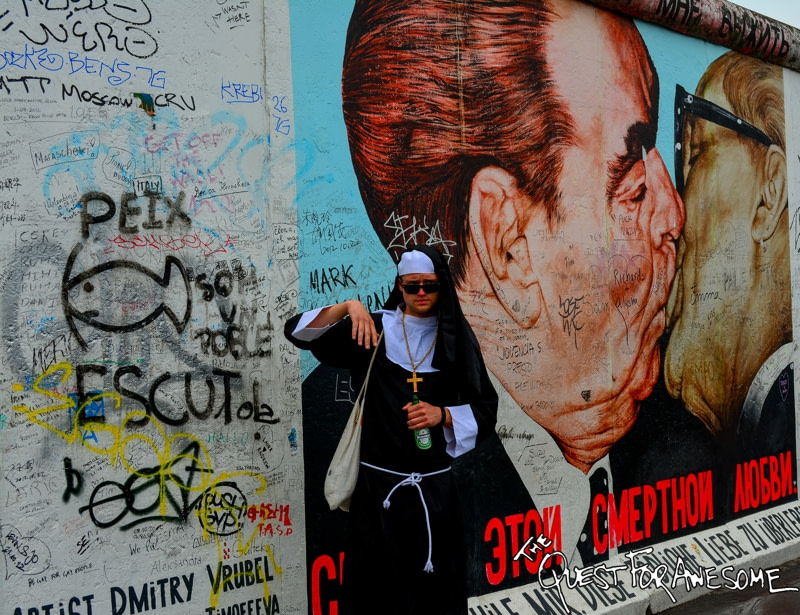 Street Art On The Berlin Wall - The Quest For Awesome