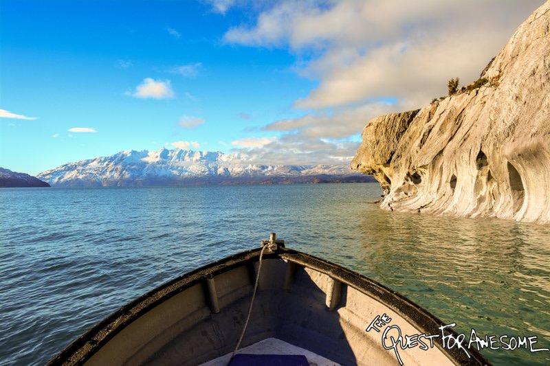 Dog Head Rock Lago General Carerra, Chile
