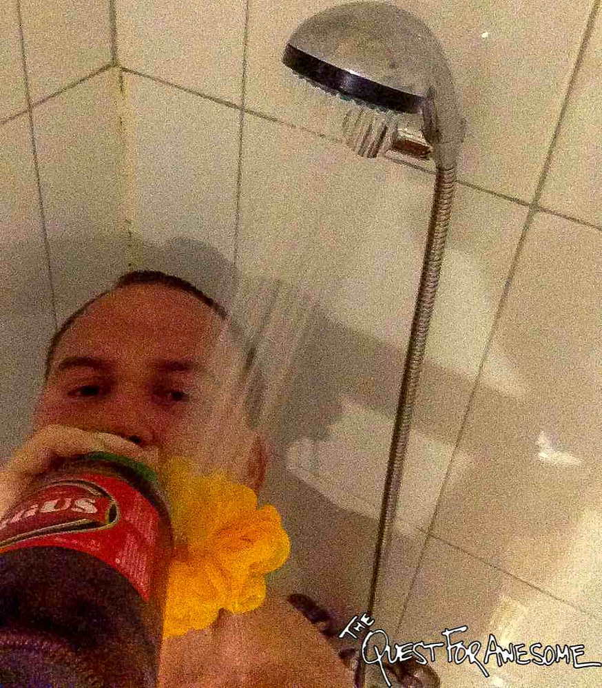 Shower Beer - Madrid
