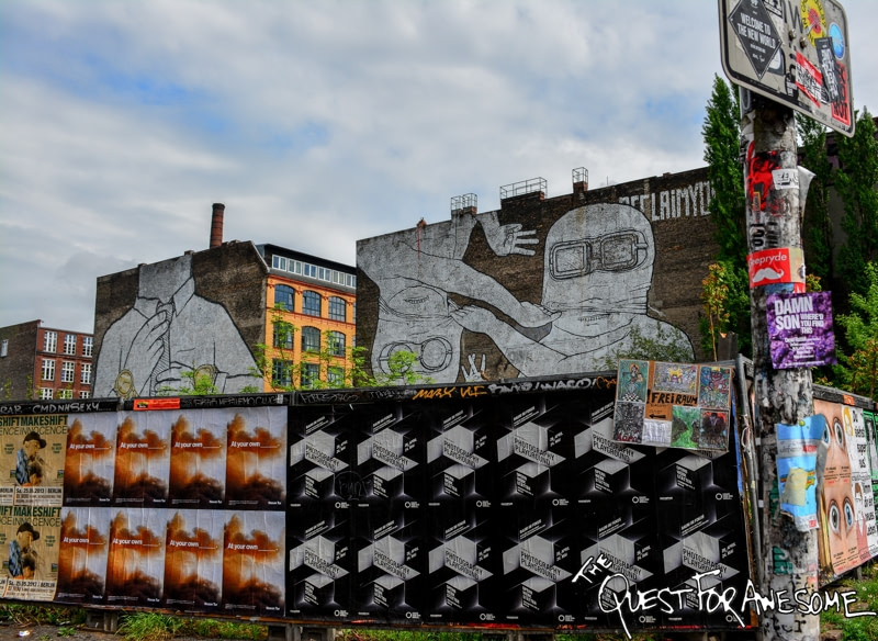 Berlin Street Art - The Quest For Awesome